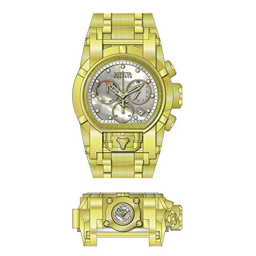 Invicta Men's Reserve Gold-Tone Steel Bracelet & Case Swiss Quartz Watch 26707