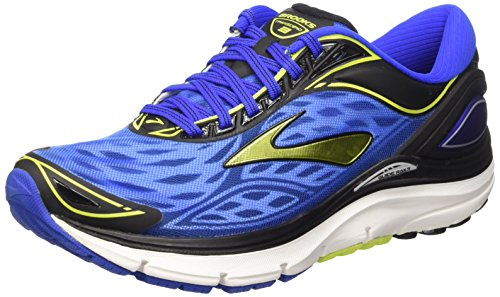 Brooks Transcend 3 M, Zapatillas de Running para Hombre, Electric Brooks Blue/Lime Punch/B, 43 EU