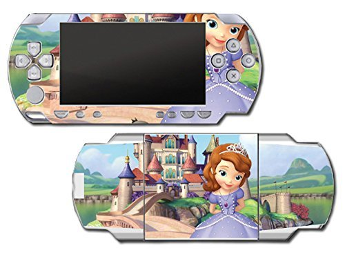 Princess Sofia the First Dress Doll Cartoon Video Game Vinyl Decal Skin Sticker Cover for Sony PSP Playstation Portable Original Fat 1000 Series System by Vinyl Skin Designs