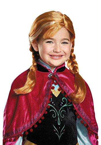 Fancydresswale Complete Elsa Accessories - (Anna Wig)