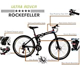 #4: Rockefeller 26 inch Foldable Mountain Bicycle with Spokes Wheels