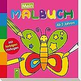 Mein erstes Malbuch (Schmetterling): Ab 2 Jahren - Mit farbigen Vorlagen - Christian Ortega