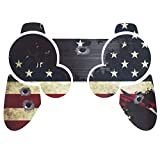 PlayStation 3 PS3 Controller Sticker - Aufkleber Schutzfolie Skin für Sony Playstation DualShock 3 Wireless Controller Battle Torn Stripes