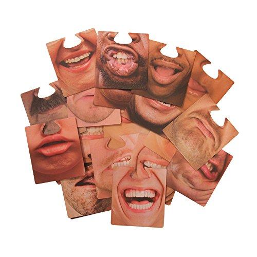 Aufsetzbare Untersetzer von Paladone, Karton, mehrfarbig, 10 x 9 x 9 cm (Party Geschenk-karton)