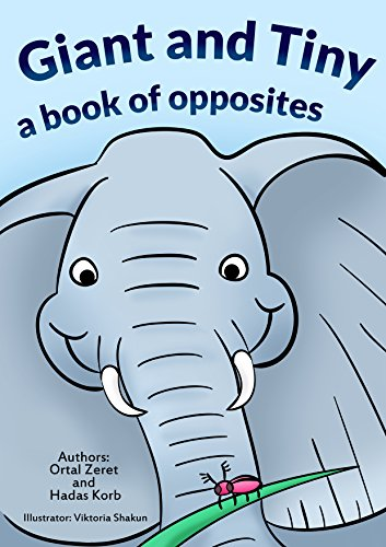 """Children's book:""""Giant and Tiny"""" :Bedtime story (kids book) Beginner reader-values-Funny-Rhymes-read along-series-Animals stories book:Mammals: (Elephant ... Toddler Story Book Book 2) (English Edition)"""