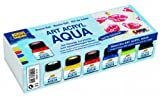 KREUL Solo Goya 86300 - Art Acryl Aqua Set, 6 x 20 ml