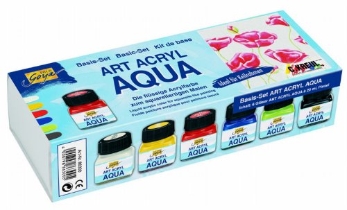 solo-goya-86300-art-acryl-aqua-set-6-x-20-ml