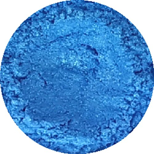 Cosmetic Mica Powder Ice Blue 3g-20g for Soap, Eyeshadow, Bathbombs (3g)
