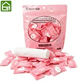 Note. 50pcs/lot Outdoor Travel Magic Compressed Cotton Disposable Towel Tablet Capsules Cloth Wipes Paper Tissue Mask