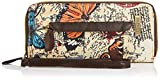 Swankyswans Atlantis Butterfly Map Print Zipper, Damen Geldbörsen, beige - Beige - Größe: One Size