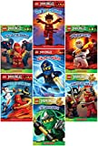 LEGO Ninjago Reader Pack: 7 Book Set: #1: Way of the Ninja / #2: Masters of Spinjitzu / #3: The Golden Weapons / #4: Rise of the Snakes / #5: A Ninja's Path / #6 Pirates vs. Ninja / #7 The Green Ninja