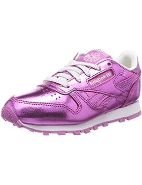 Reebok Classic Leather Metallic, Zapatillas de Running Para Niñas