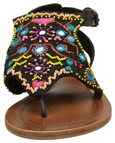 Antik Batik Damen Saporta Zehentrenner Multicolore (Multico)
