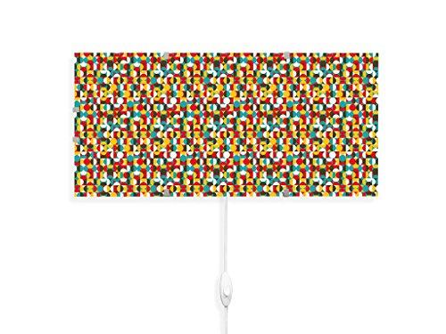 yourdea - Kinderzimmer Wandlampen Wechsel Bild für IKEA GYLLEN 56cm mit Motiv: Halbkreise