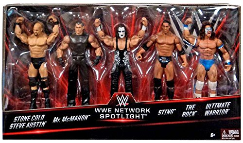 wwe-basic-series-wwe-network-spotlight-exclusive-5-pack-stone-cold-mr-mcmahon-sting-the-rock-and-ult