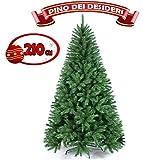 L'atmosfera Natalizia è di fondamentale importanza per la nostra casa, l'attesa del Natale è un momento magico per grandi e piccini, fa che questo albero possa arredare la tua casa in modo splendido ed armonioso. L'albero è completamente ecol...