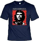 Revolution T-Shirt Che Guevara (Größe: S) in navy blau
