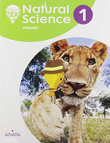 Pack Natural Science 1. Pupil's Book + Ideas de cerca + Brilliant Biography. Animals (BRILLIANT IDEAS)