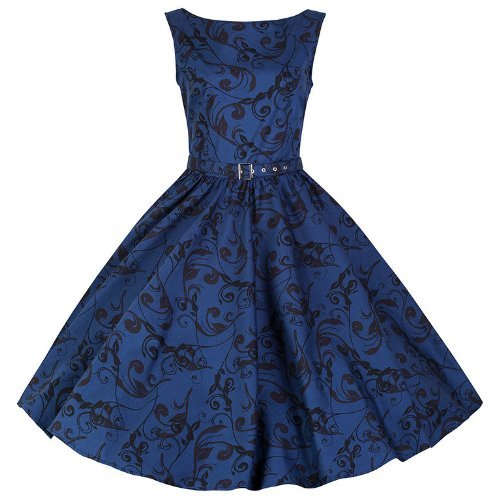 Pretty Kitty Kleid - Fashion 50s Polka Dot thumbnail
