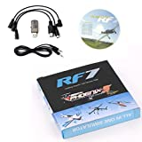 Omiky® RF7 22 in 1 RC USB Flight Simulator Set passend für XTR G5 G6 G7 AeroFly PhoenixRC