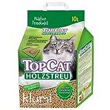 TopCat Holzstreu Katzenstreu Naturprodukt, 10 Liter