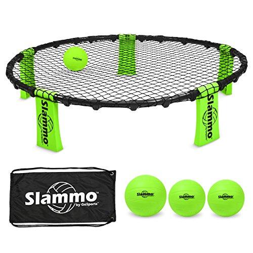 gosports slammo Spiel Set (inklusive 3Bälle, Tragetasche und Rules)
