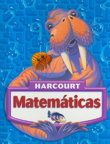 Harcourt Matematicas: Libros del Estudiante Grade 3 2005 (Matematicas 05)