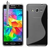 Schutzhülle weich Silikon Gel, Motiv S-Line für Samsung Galaxy Grand Prime sm-g530F/(4G) sm-g531F/Duos TV sm-g530bt/Doppelfenster g530y g530h Doppelfenster/DS