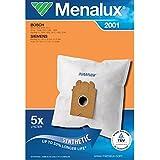 Original Markenware Menalux 2001 / Siemens VS 01 / Duraflow / 5 Staubbeutel
