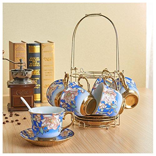 Regal Wars Star Kostüme (FAN4ZAMEHome Keramik Kaffeetasse Setafternoon Cup Setzt Der Kombinationen Kaffee Kaffee Tasse Tasse Mit Untertasse Set 6 Senden High-Grade Kreative Schwarzer Tee Wasser Glas Regal)