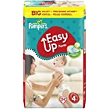 PAMPERS Training Pants Pull Easy Up Talla 4maxi (8–15kg)–Formato económico 1x 54Pañales