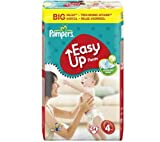 PAMPERS Couches-culottes Easy Up Taille 4 maxi (8-15 kg) - Format économique 1 x 54 couches
