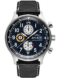 AVI-8 Analog Blue Dial Men's Watch-AV-4011-0I