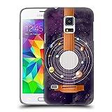 Head Case Designs Gitarre Raummusik Ruckseite Hülle für Samsung Galaxy S5 Mini