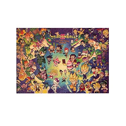 Bellenne Dragonball Z Poster / Wanddekoration / Wandaufkleber -