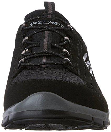 Skechers Sport GRATIS Bungee pour femme Mode Sneaker noir/noir