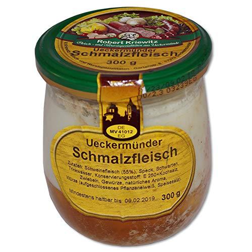 Schmalzfleisch im Glas - Fleischerei Robert Kriewitz - 300g