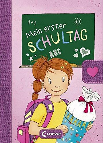 Preisvergleich Produktbild Mein erster Schultag (Mädchen) (Eintragbücher)