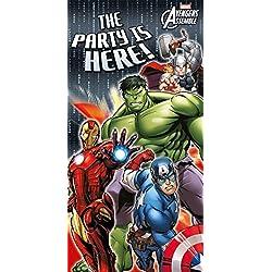 Marvel Los Vengadores superhéroe Niño cumpleaños Cartel para Puerta