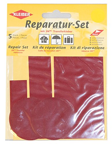 kleiber-juego-de-parches-de-reparacion-para-ropa-de-nailon-autoadhesivos-5-piezas-color-rojo-oscuro