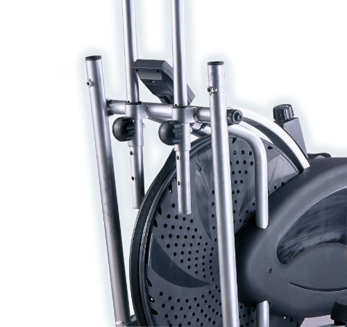51rPuAhIPxL - Body Sculpture BE5920 Dual-Action Air Elliptical Cross Trainer | 12 Months Warranty | Adjustable Air Resistance | Track Your Progress | More