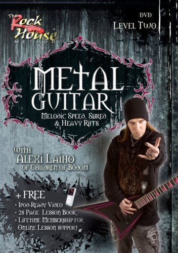 Metal Guitar with Alexi Laiho of Children of Bodom - Level Two (House Guitar Rock Metal)