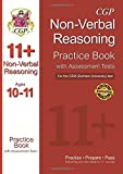 11+ Non-Verbal Reasoning Practice Book with Assessment Tests (Ages 10-11) for the CEM Test