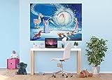 AG Design FTDM 0742 Cinderella Disney Princess Aschenputtel Papier Fototapete für Kinderzimmer, Mehrfarbig, 160 x 115 cm
