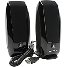 Logitech S150 Altavoces Estéreo Digitales USB / Altavoces Multimedia 2.0 Compactos para Windows, PC, Ordenador, Ordenador Portátil / iCHOOSE