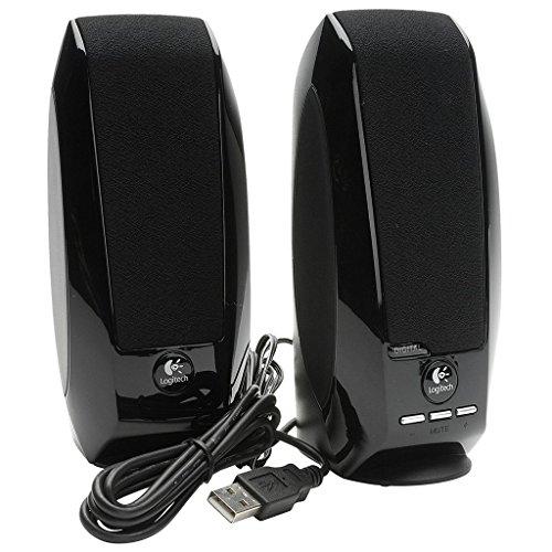Logitech S150 USB Digitale Stereo-Lautsprecher / Multimedia Kompakt 2.0 Lautsprecher für Windows, PC, Laptop, Computer / iCHOOSE