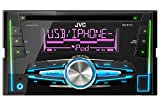 JVC KW-R710E USB/CD-Receiver mit Front-AUX-Eingang schwarz