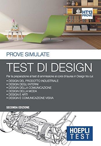 Hoepli test test di design prove simulate per la for Laurea in design