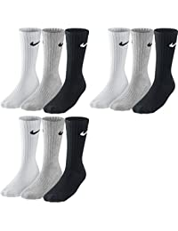Nike 3PPK Value Cotton Crew - Calcetines unisex