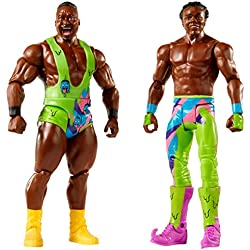 WWE Battle Pack #51 - Big E & Xavier Woods - The New Day - Action Figure Wrestling